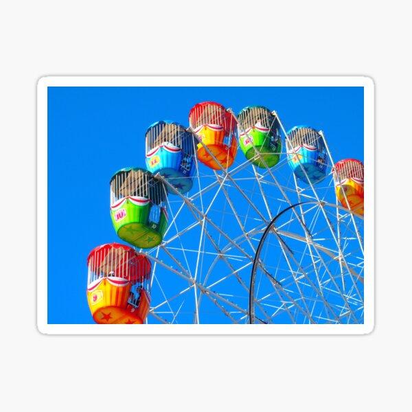 Ferris Wheel at the Ekka >> Sticker