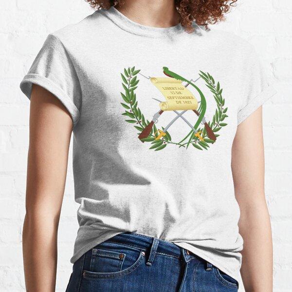 Emblema Nacional de Guatemala Camiseta clásica