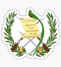 National Emblem of Guatemala  Sticker