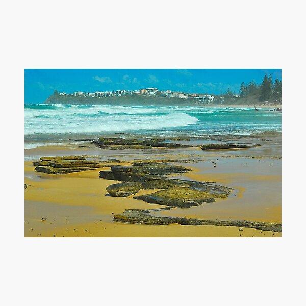 Dicky Beach, Caloundra Photographic Print