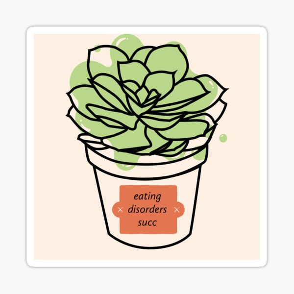 Eating Disorders Succ Sticker