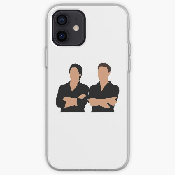 damon and stefan salvatore iPhone Soft Case
