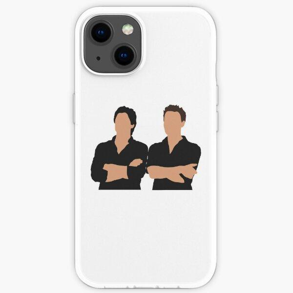 Damon und Stefan Salvatore iPhone Flexible Hülle