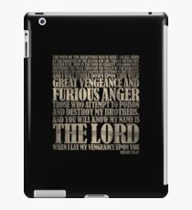 Ezekiel 25:17 iPad Case/Skin