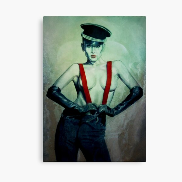 Night Porter Canvas Print
