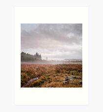 Aberdeenshire Fog Art Print