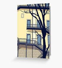 Chiado #1 Greeting Card