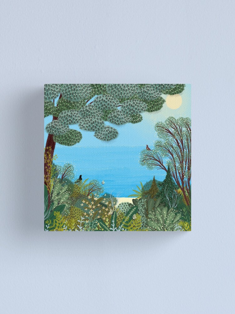 Alternate view of Sea View Canvas Print