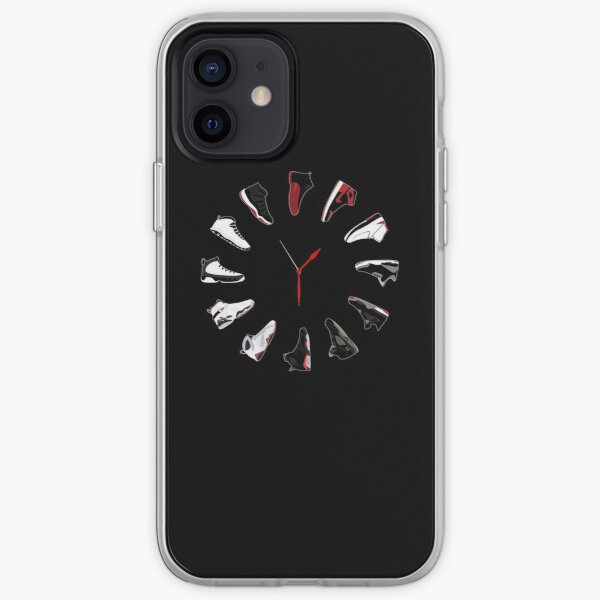 Air Jordan Sneaker Clock iPhone Soft Case