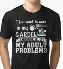 Gardening Tri-blend T-Shirt