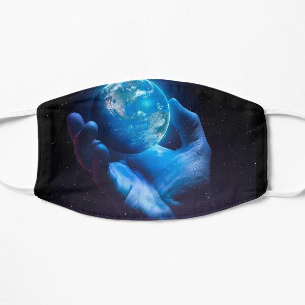 Zerbrechliche Erde - Version 2 Flache Maske