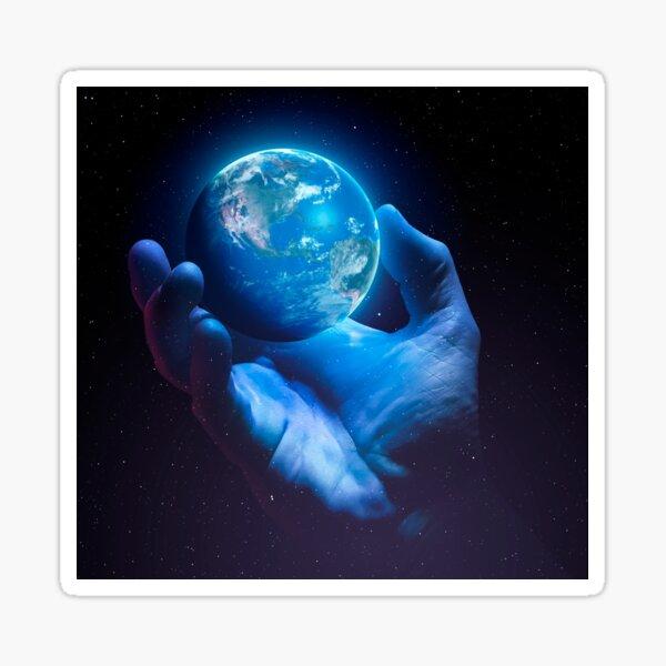 Zerbrechliche Erde - Version 2 Sticker