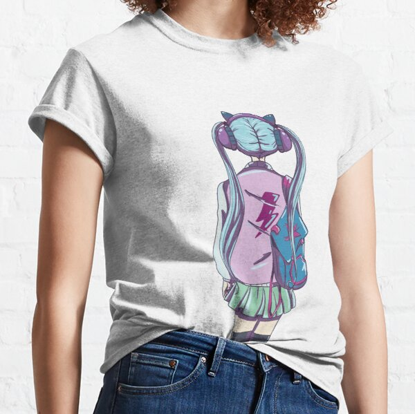 music lover girl T-shirt classique