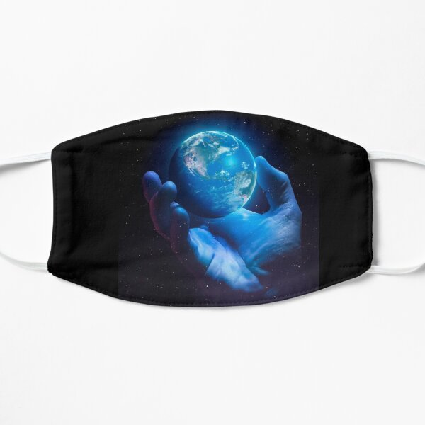 Zerbrechliche Erde - Version 2b Flache Maske