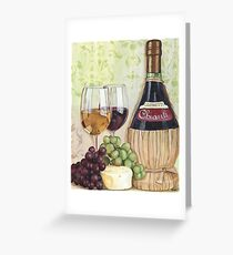 Chianti and Friends Greeting Card