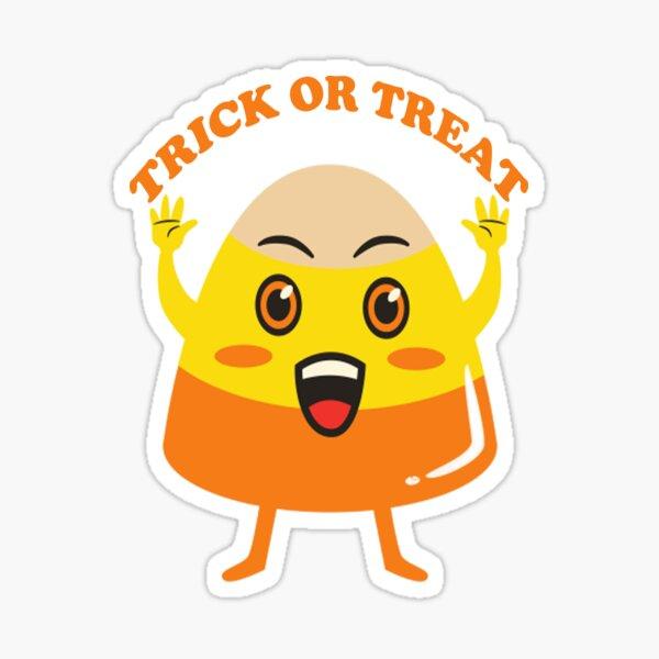 Trick or treat.- Halloween Sticker