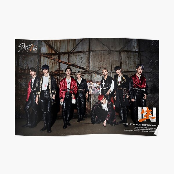 Stray Kids Back Door IN LIFE teaser 2 SKZ 3RACHA 스트레이 키즈 Poster