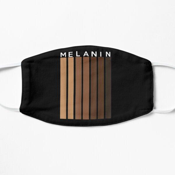 Melanin T-Shirt Flat Mask