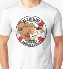 Be A LifeLine Rescue A Shelter Animal T-Shirt