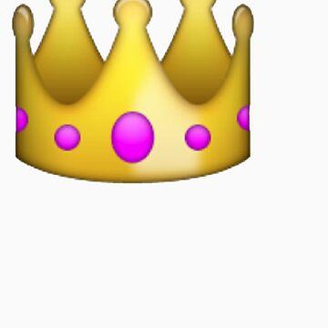 Crown emoji  by ChloeHebert
