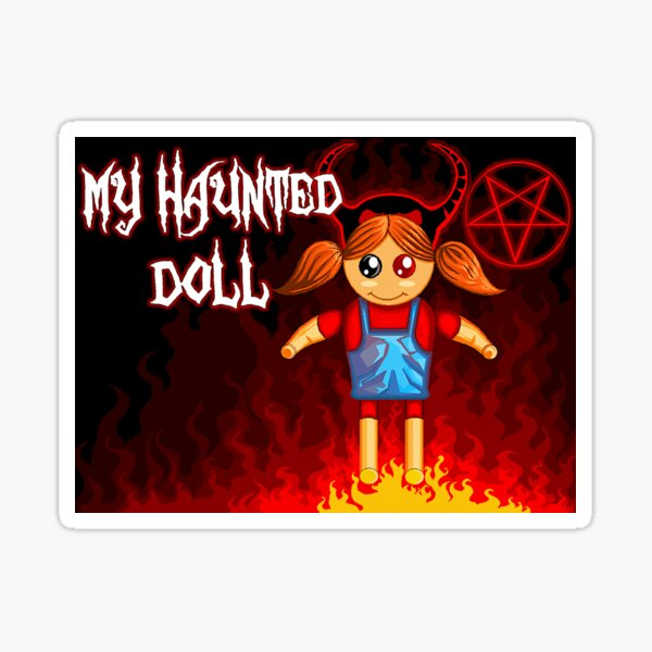 My Haunted Doll Game Sticker