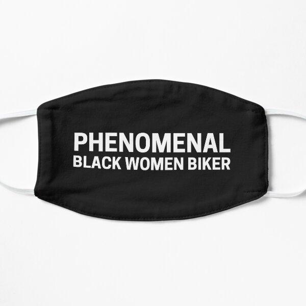 Phenomenal Black Woman Biker Flat Mask