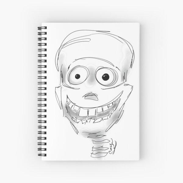 Harry Halloween Skeleton Spiral Notebook