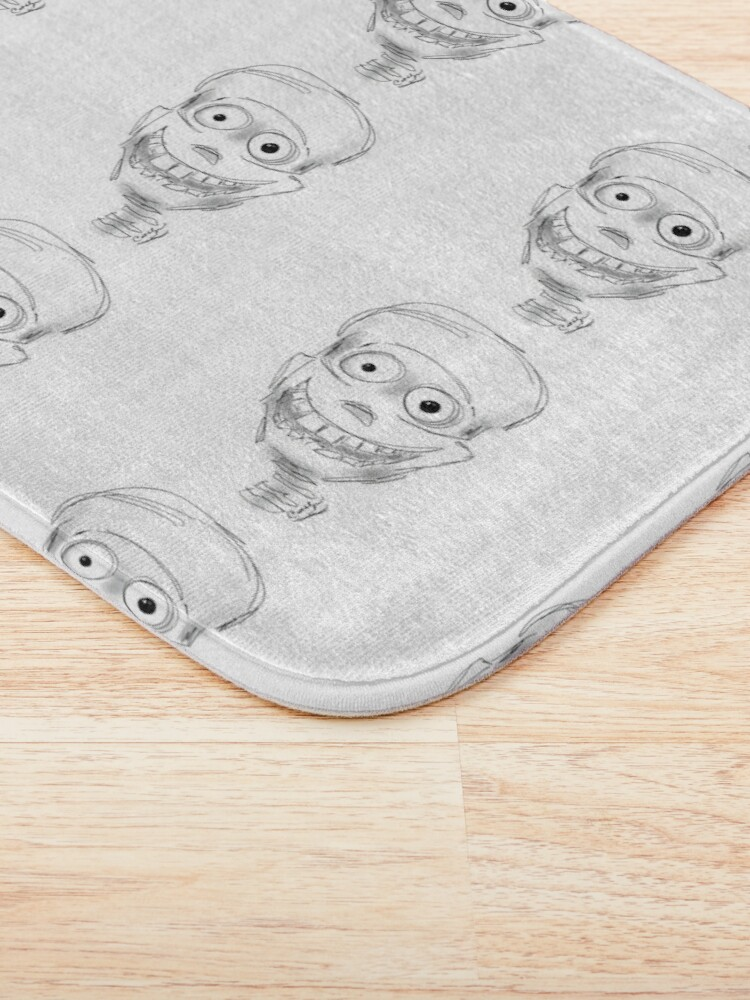 Alternate view of Harry Halloween Skeleton Bath Mat
