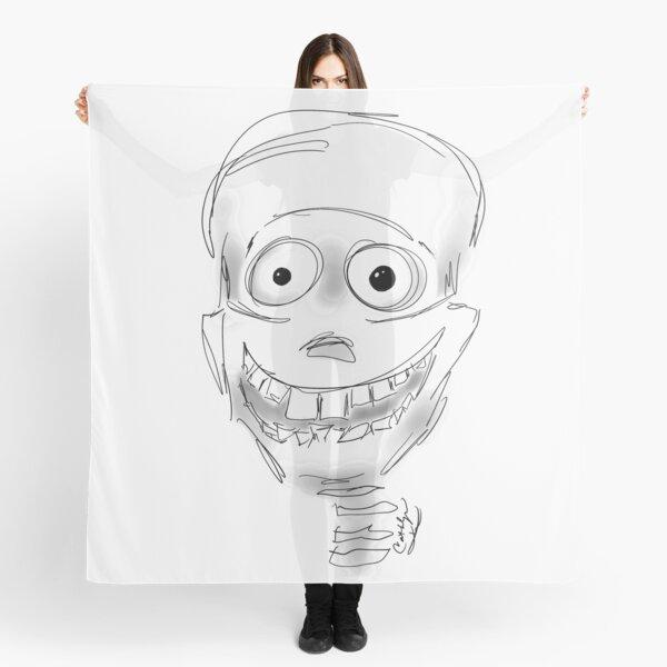 Harry Halloween Skeleton Scarf
