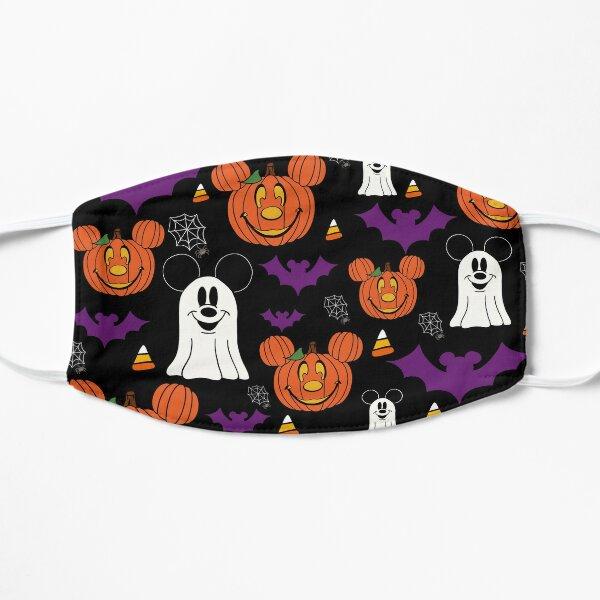 Halloween Mouse Purple & Black Flat Mask