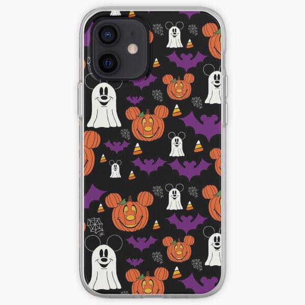Halloween Mouse Purple & Black iPhone Soft Case