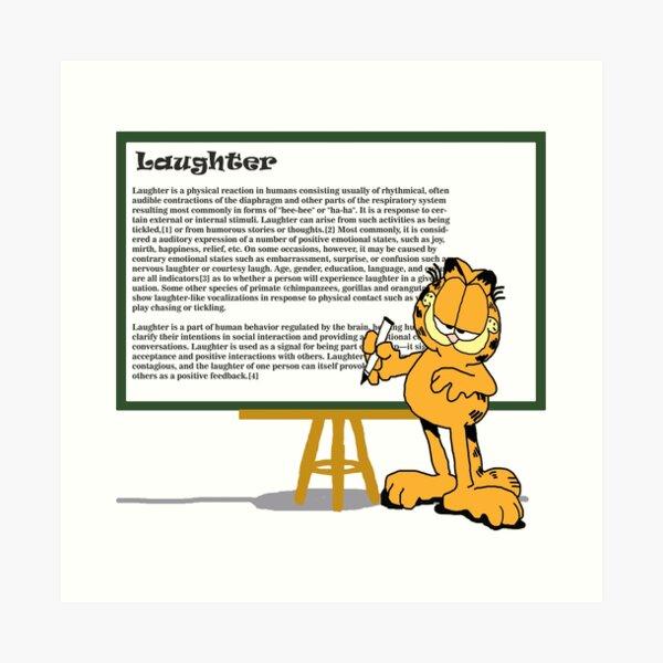 Garfield Wall Art Redbubble