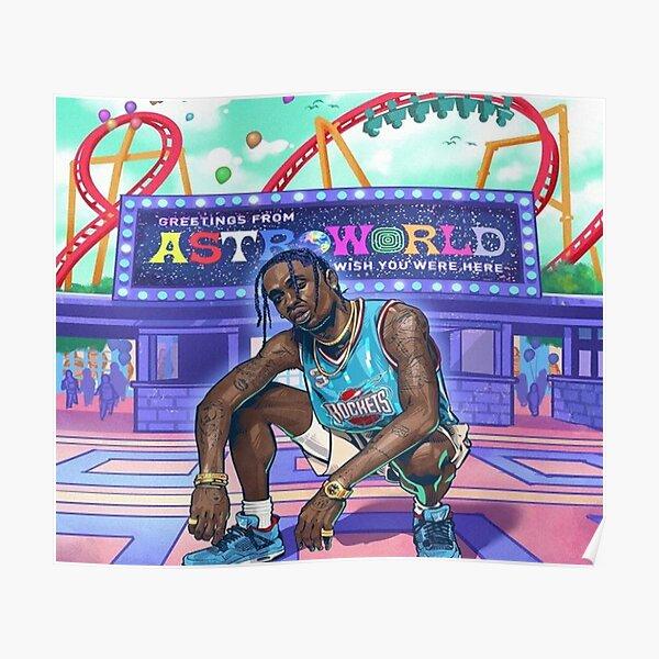 Travis Scott Astroworld Poster