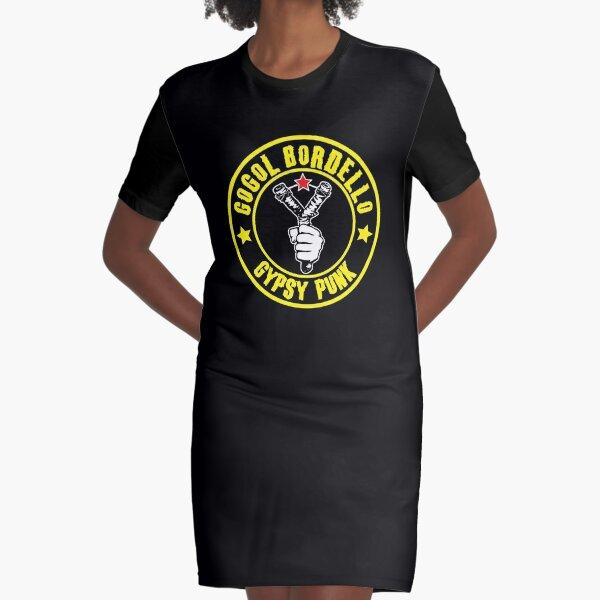 BEST SELLER Gogol Bordello Merchandise Graphic T-Shirt Dress