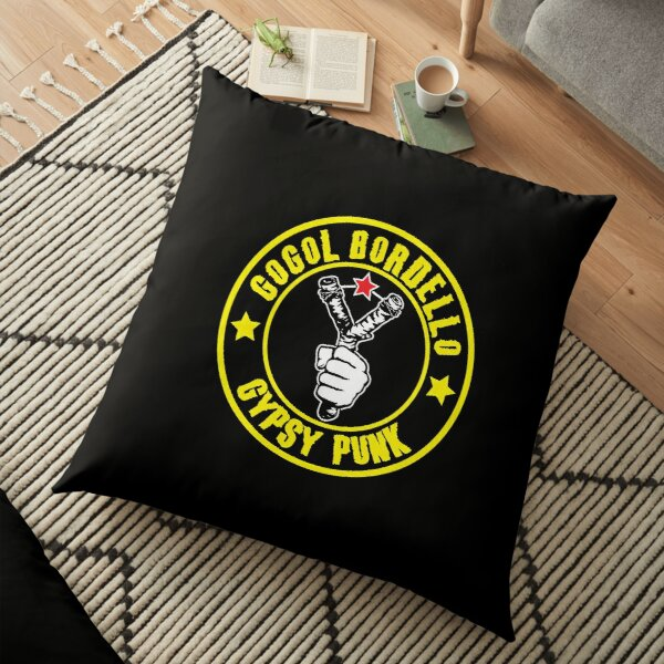 BEST SELLER Gogol Bordello Merchandise Floor Pillow