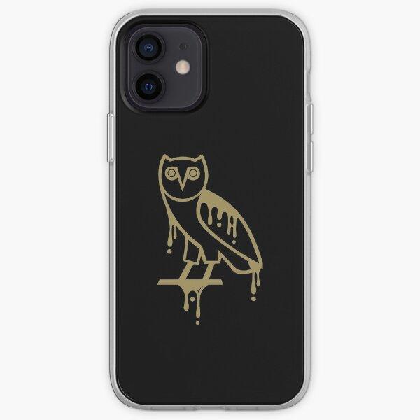owl melt gold iPhone Soft Case