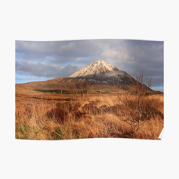 Mount Errigal From The West Poster