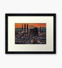 Grangemouth Refinery (3) Framed Print
