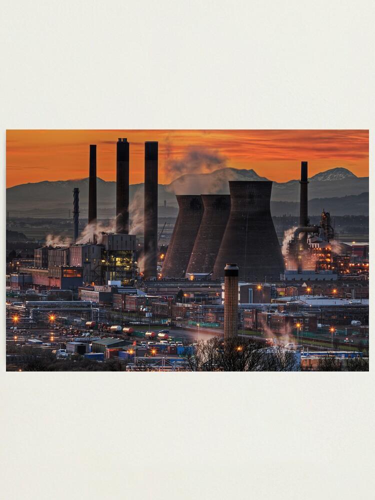 Alternate view of Grangemouth Refinery (3) Photographic Print
