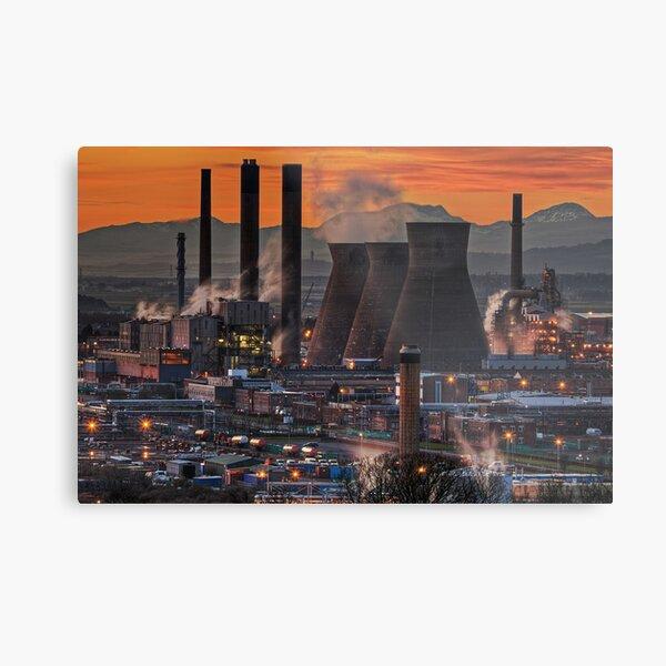Grangemouth Refinery (3) Metal Print