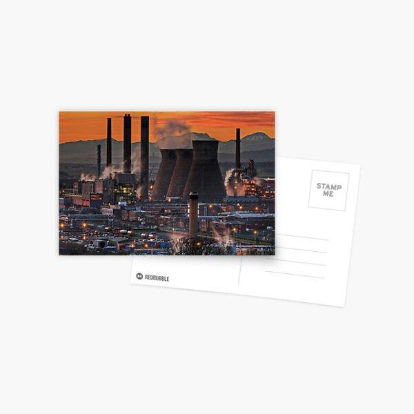 Grangemouth Refinery (3) Postcard