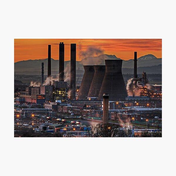 Grangemouth Refinery (3) Photographic Print
