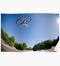 High BMX jump Poster