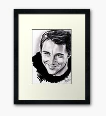 Lee Pace, Ned the pie-maker Framed Print