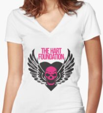 The Hart Foundation Women's Fitted V-Neck T-Shirt