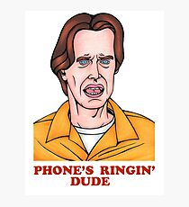 Phone's Ringin' Dude (Color) Photographic Print