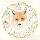 Fox Mandala by Cat Gabriel