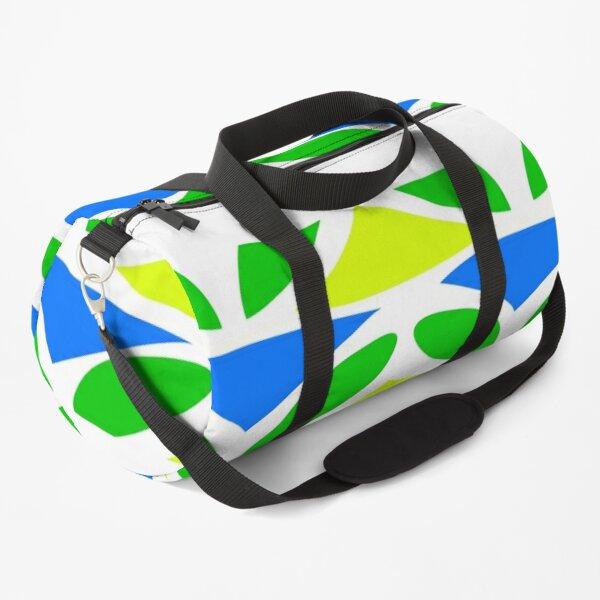Organic Shapes Pattern Duffle Bag