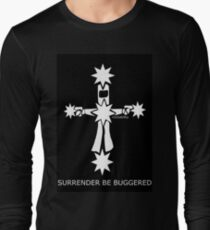 Ned Kelly Surrender Be Buggered T-Shirt