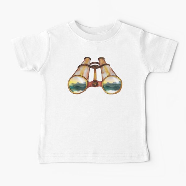 Binoculars Tatra Cottage Baby T-Shirt